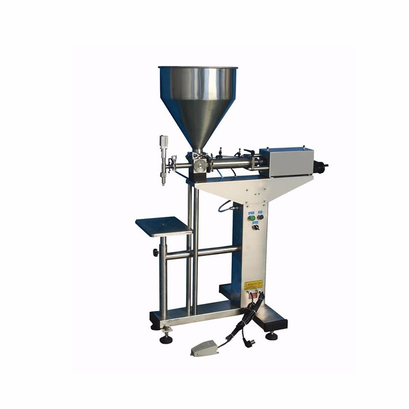 Semi Automatic Packing Liquids Pump Machine