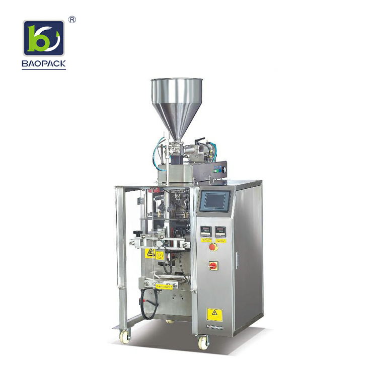 pasty fluid packaging machine