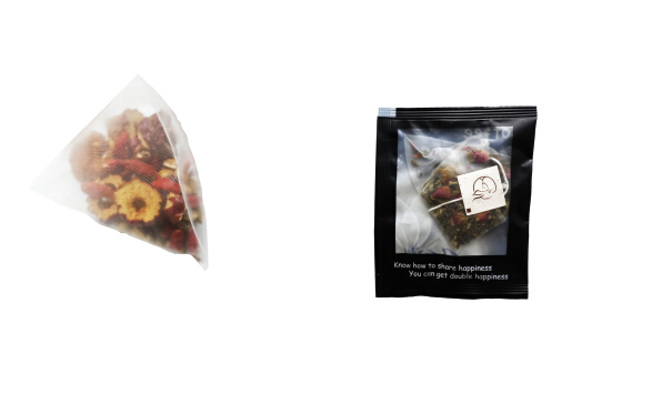 Triangle tea bag packing machine