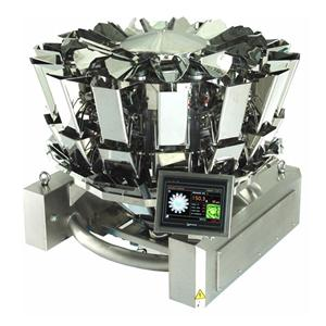 Stainless Steel 14 Heads Compact Multiweigher