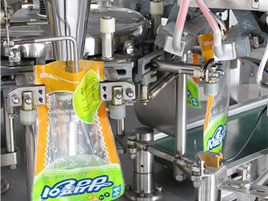 doypack pouch bag mango jam packaging machine