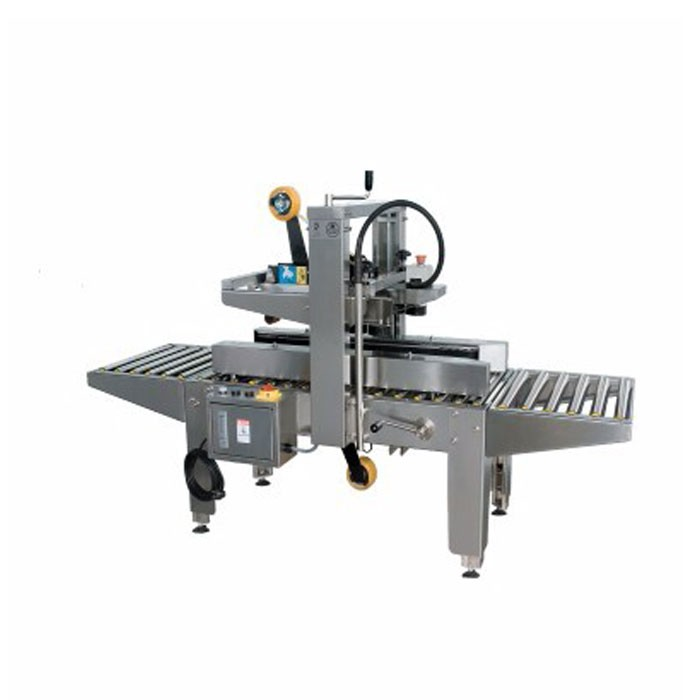 With guard automatic carton sealer