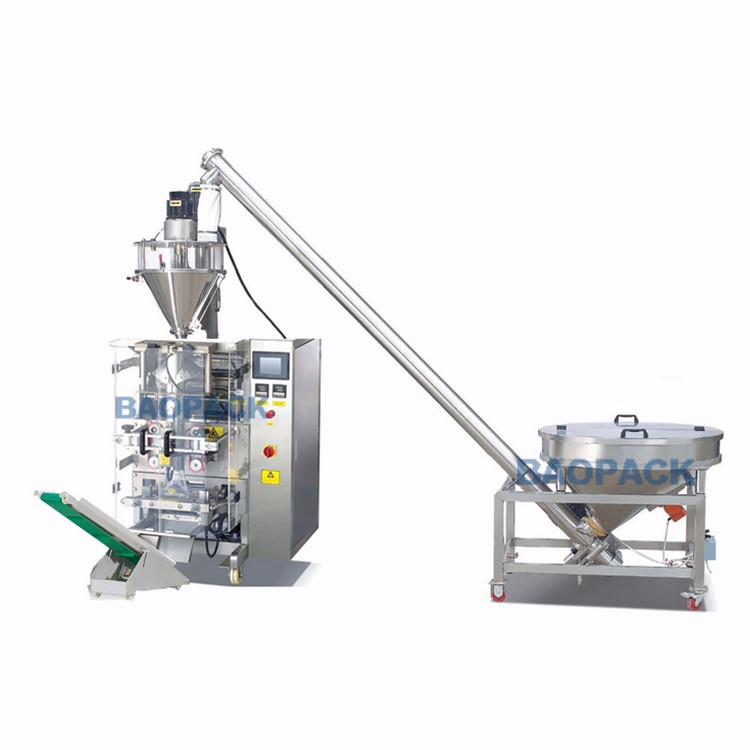 The development of powder packing machine
