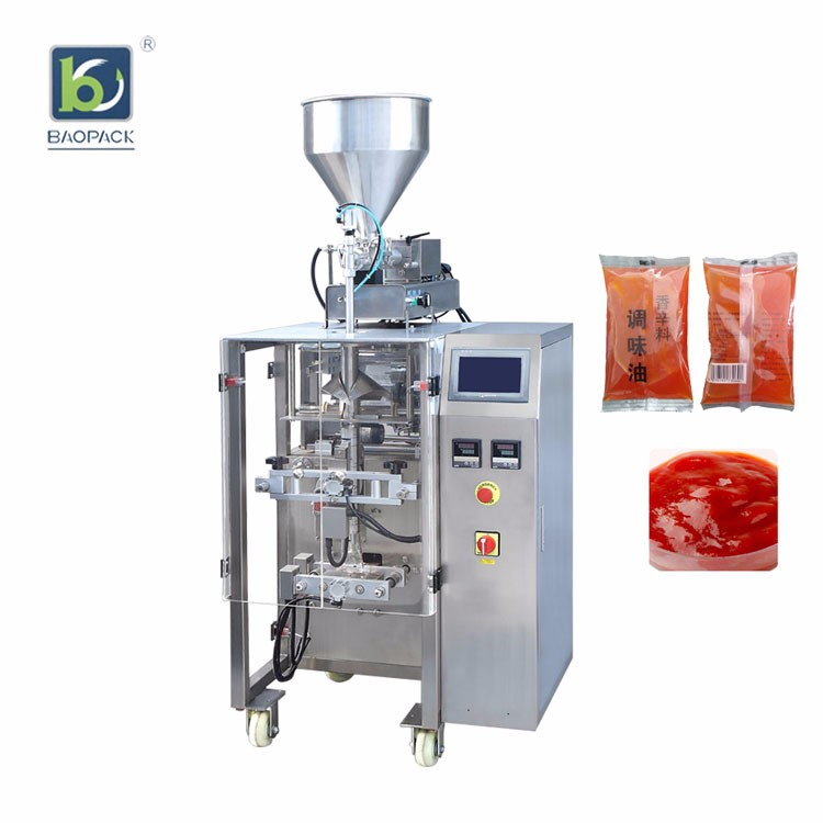 What should enterprises pay attention to when buying ketchup packaging machine?