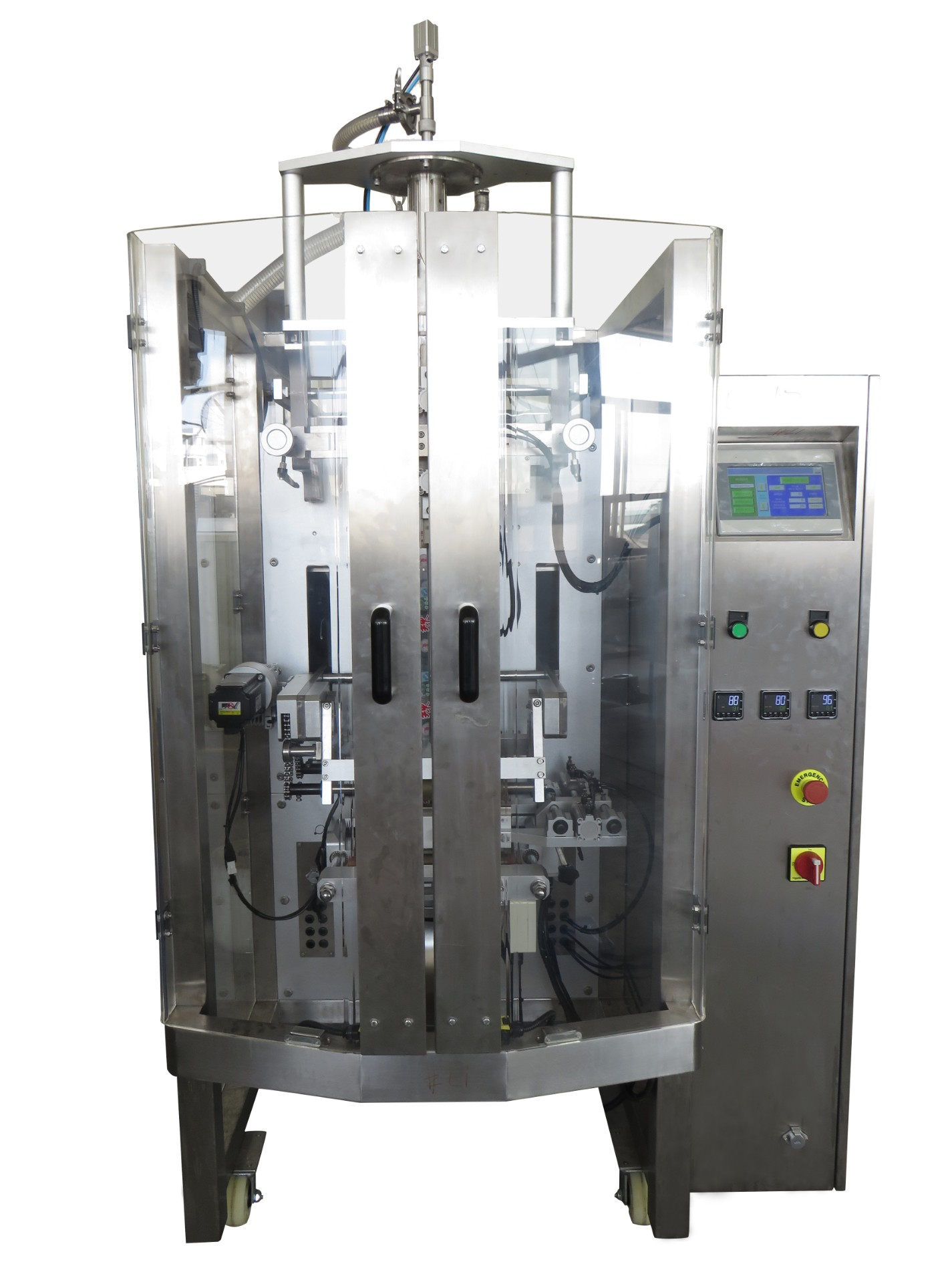 Automatic Full Fill Vertical Packing Machine With High Accuracy for Packing Paste