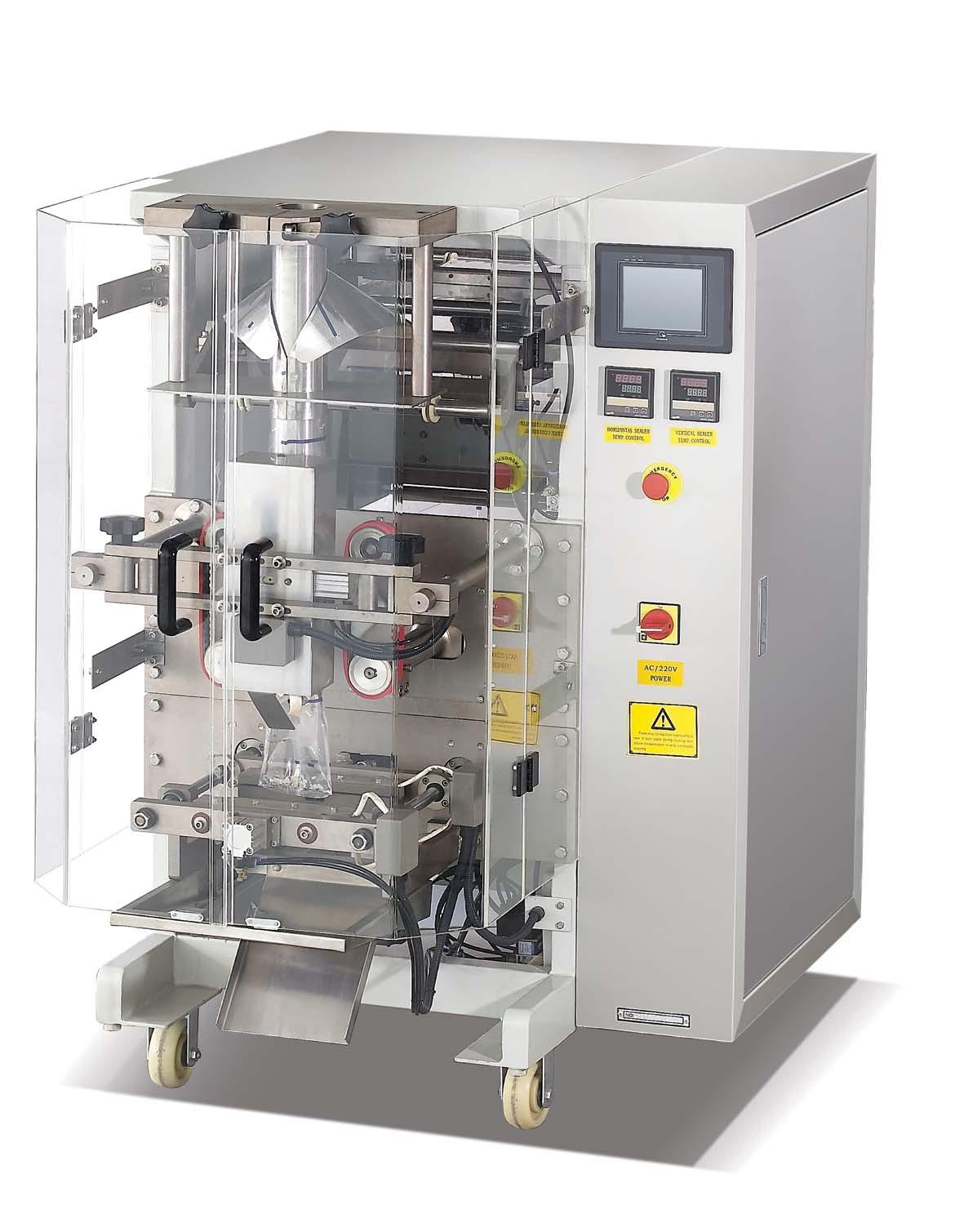 Automatische Puff-Food-Verpackungsmaschine mit unterstützender Ausrüstung für schnelle Lieferung