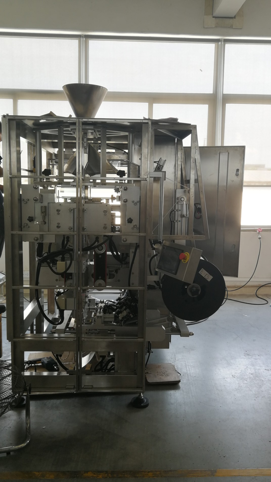 Large stainless steel doy pack packing machine for milk caramel and chocolates