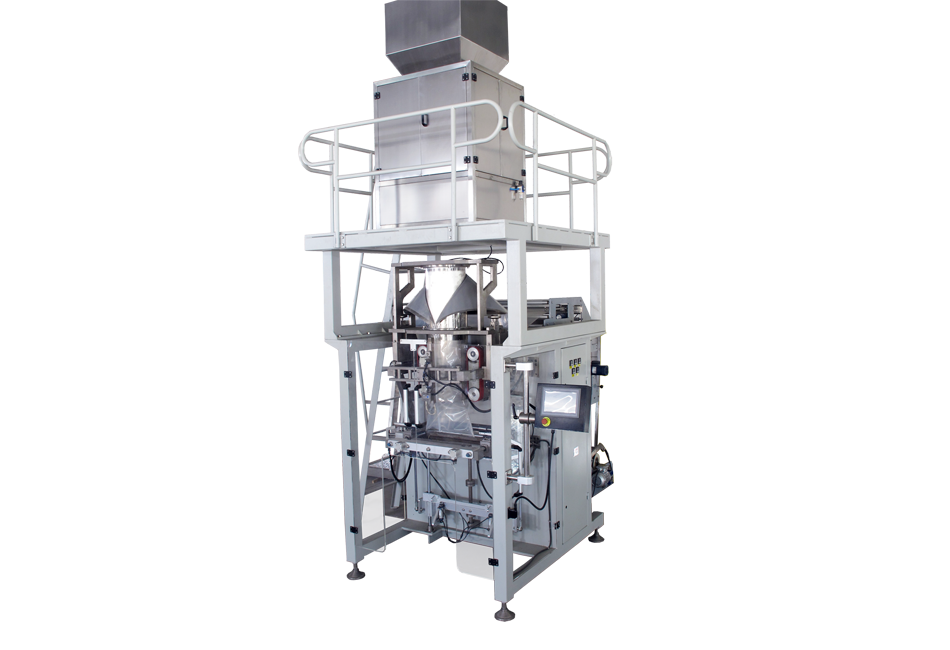 BAOPACK extra large automatic packing machine to pack large package for grain
