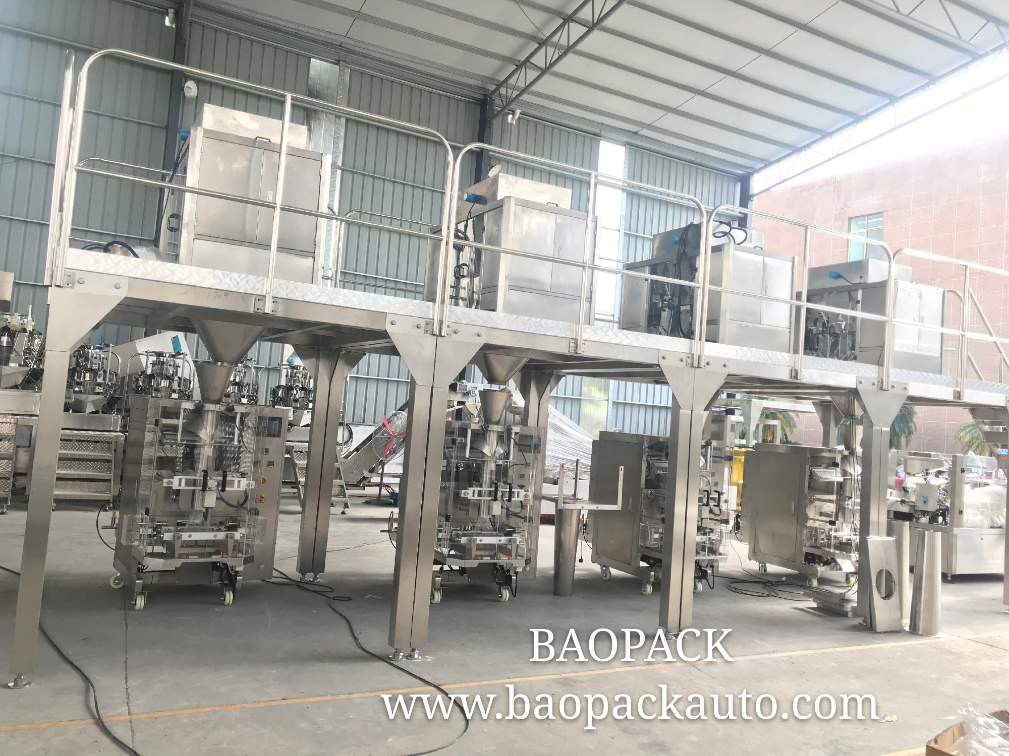 Full-Automatic Packing Machine For Packing Dried Corn Kernels and Rice 250g/500g/1000g/5000g