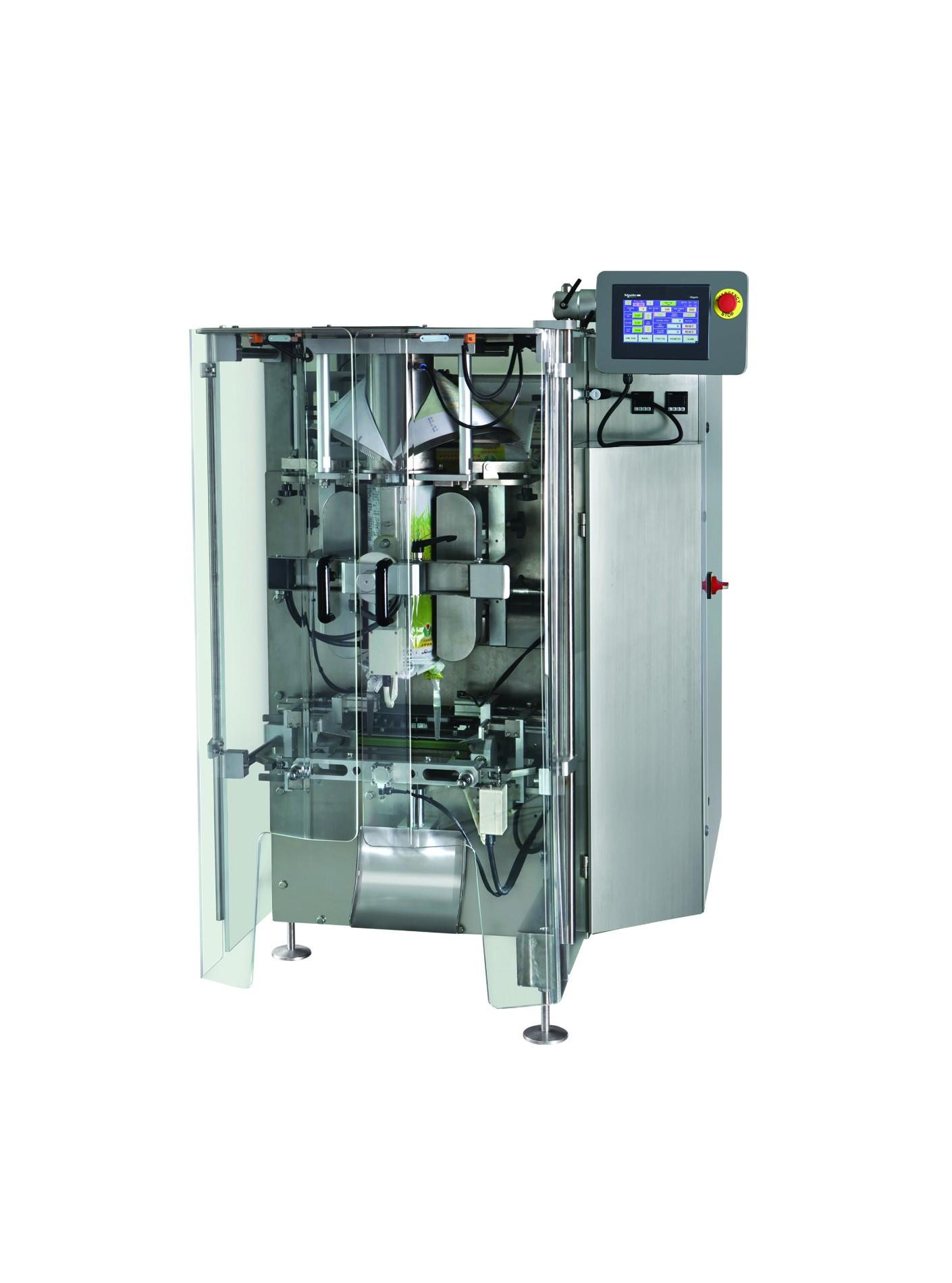 Conjunto completo de máquina de embalagem de alta velocidade com balança de 18 cabeças para embalar doces