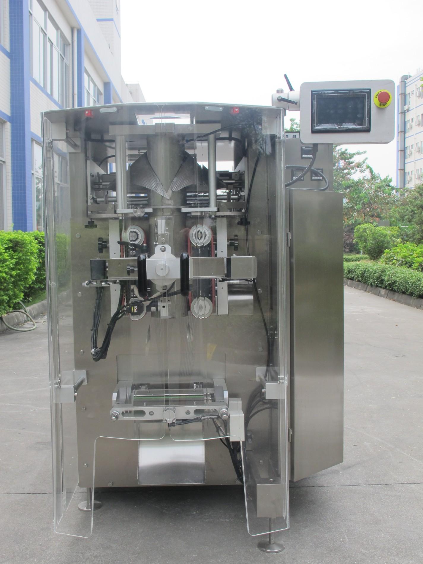 máquina de embalagem da Baopack para embalagem de arroz, feijão e batatas fritas