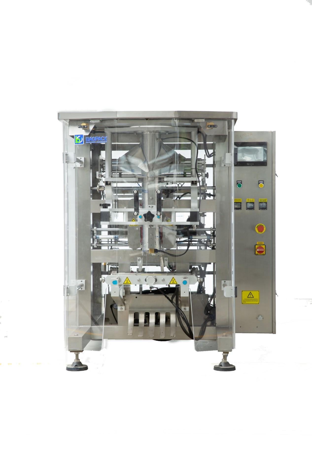 Machine d'emballage multifonction automatique VFFS pour liquides et sauces
