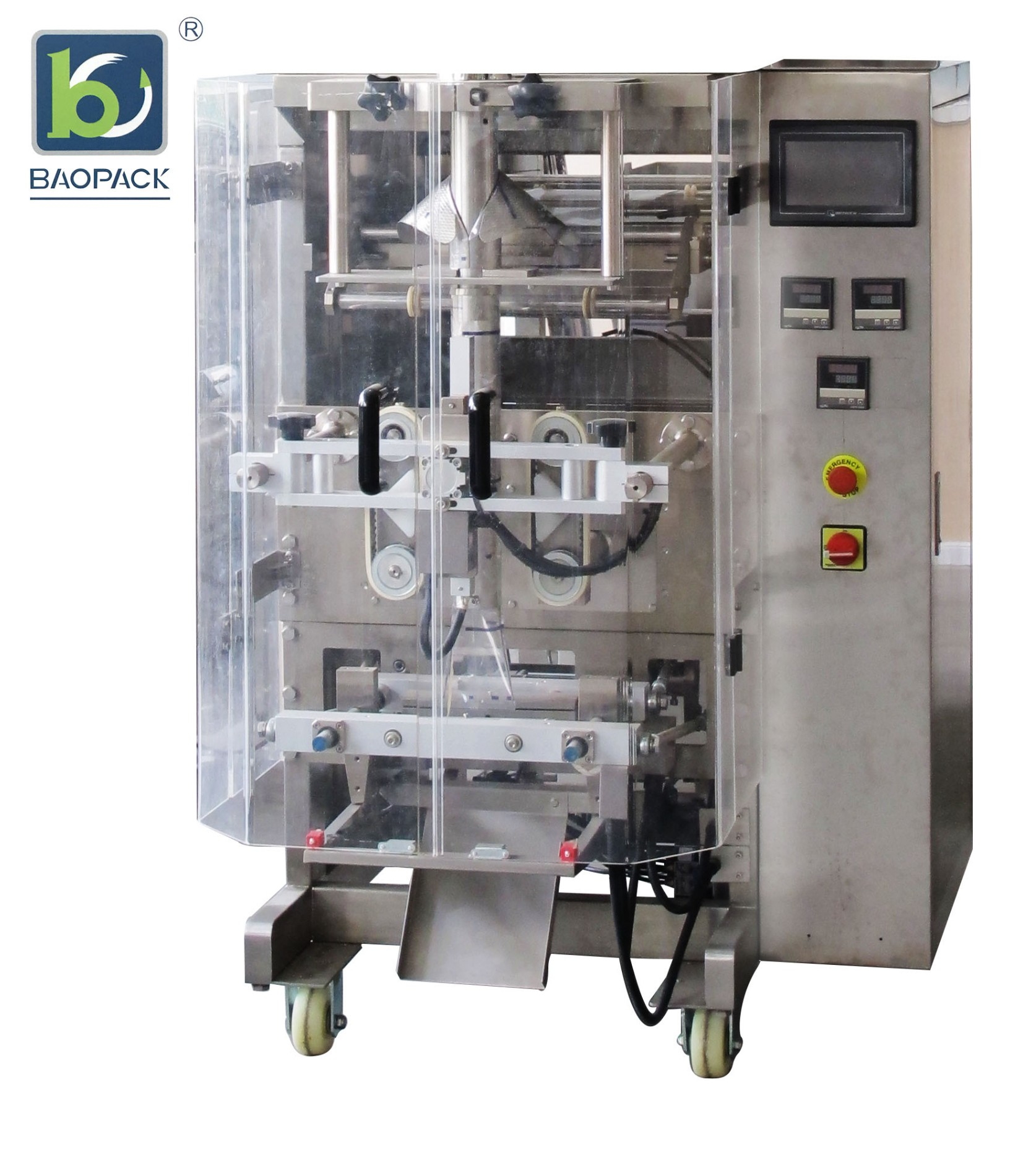 BAOPACK Vollautomatische Verpackungsmaschine mit Schneckenfüller zum Verpacken von Pulver