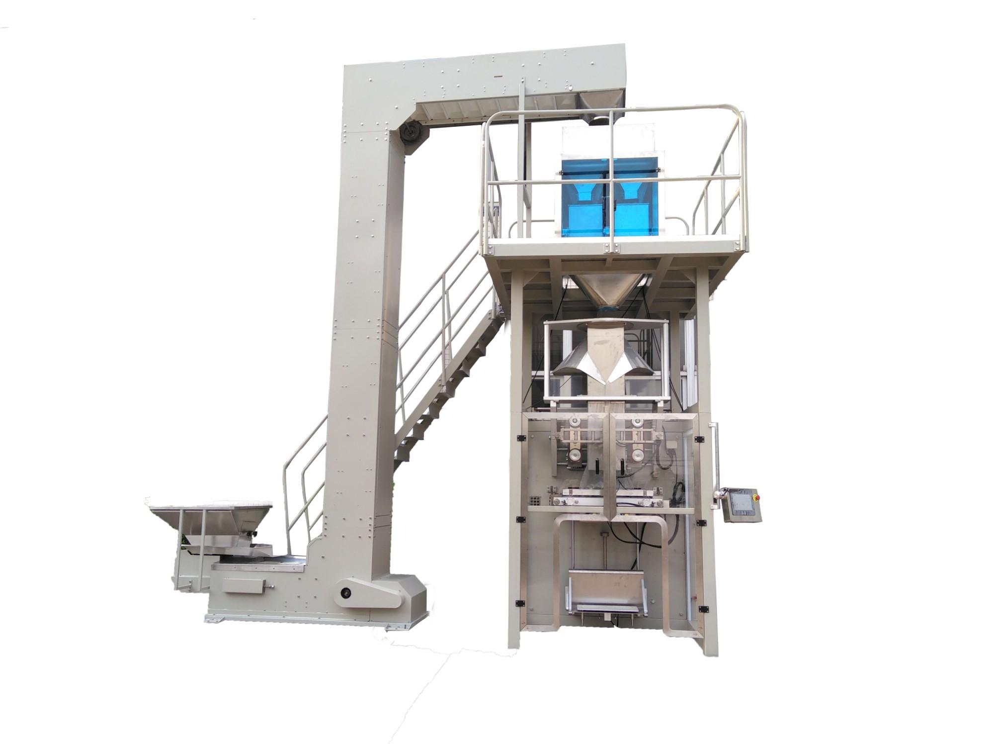 Große vertikale Verpackungsmaschine von BAOPACK zum Verpacken großer Dosierungsmaterialien