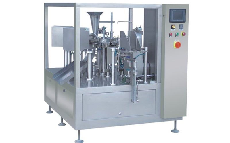 Feeding Packaging Machine With combination weigher For Packing Puff