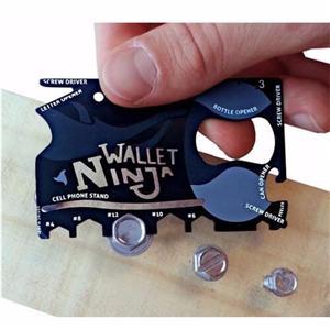 Ninja Wallet Card