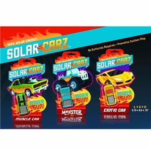 Solar Panel Toy Car