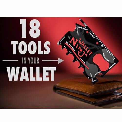 Multi Tool Credit Card Size