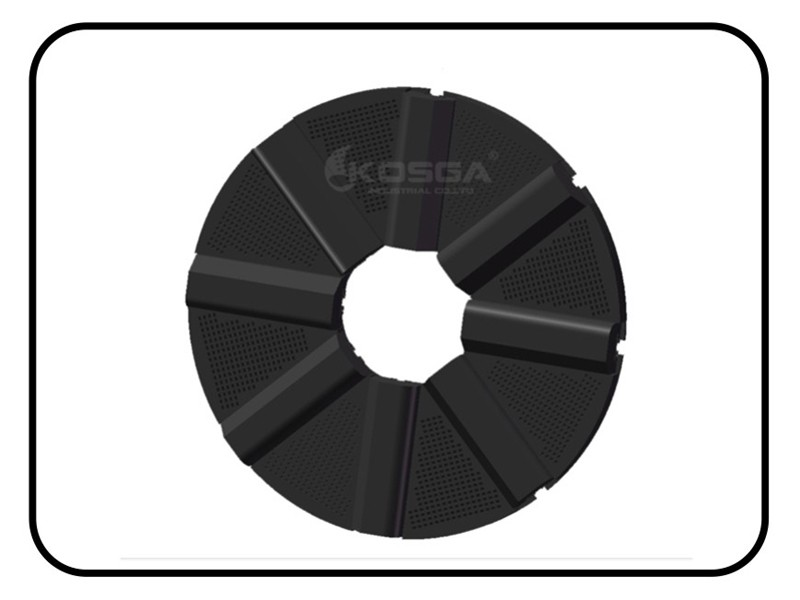 Ball mill rubber Grates