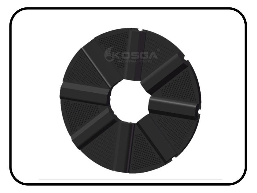 Supply Ball mill rubber Grates Price