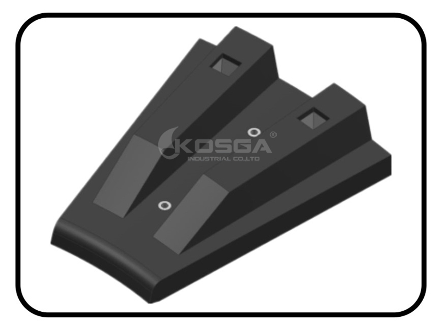 SAG Mill Feed End head Rubber Lining