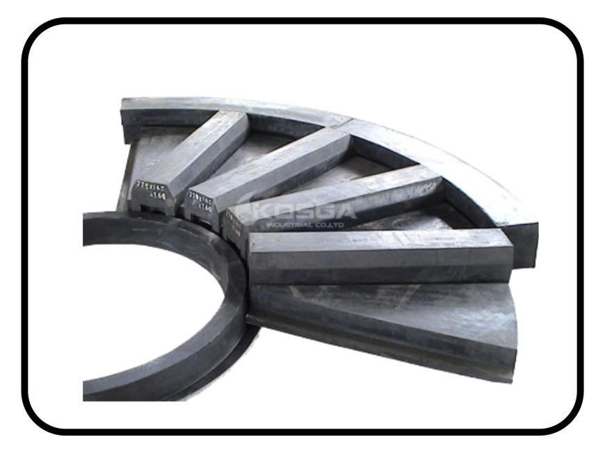 Buy Ball mill feed end rubber lining, China food grade rubber lining, rubber lining Factory