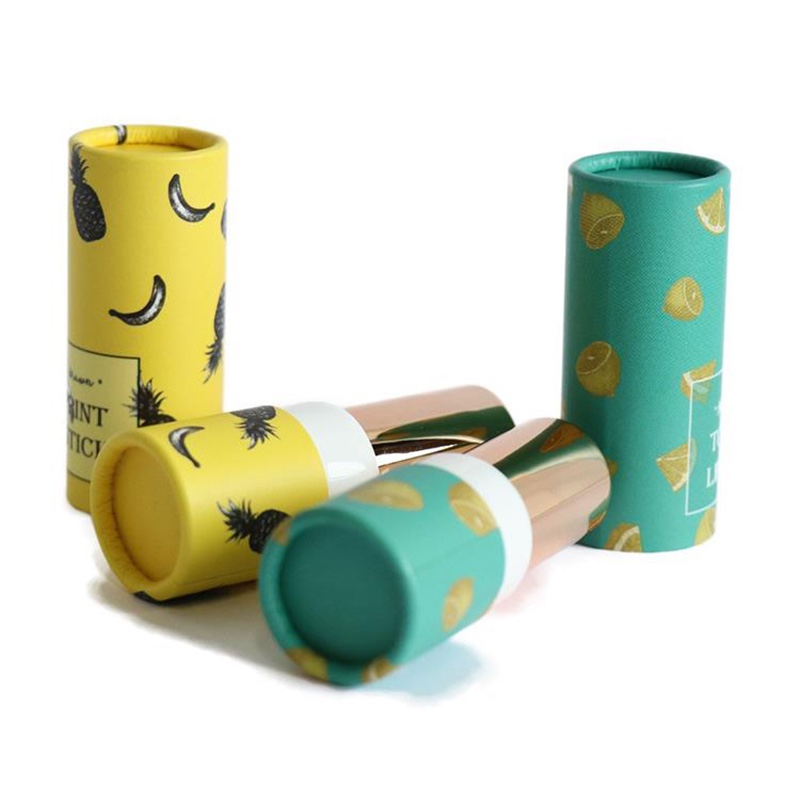 Short Small Cardboard Paper Tubes For Cosmetics