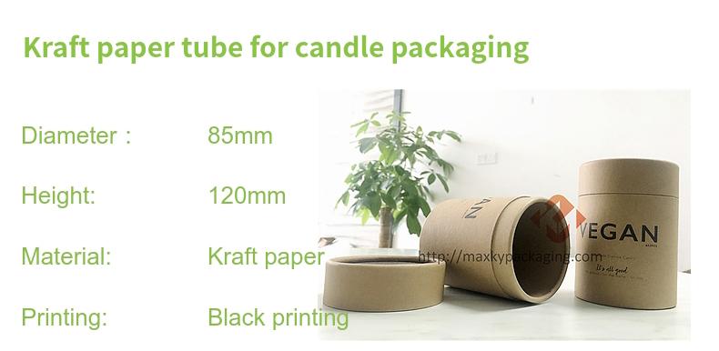 Paper Carton Tube Packaging