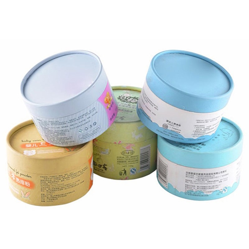 Paperboard Round Cosmetic Tube Packaging