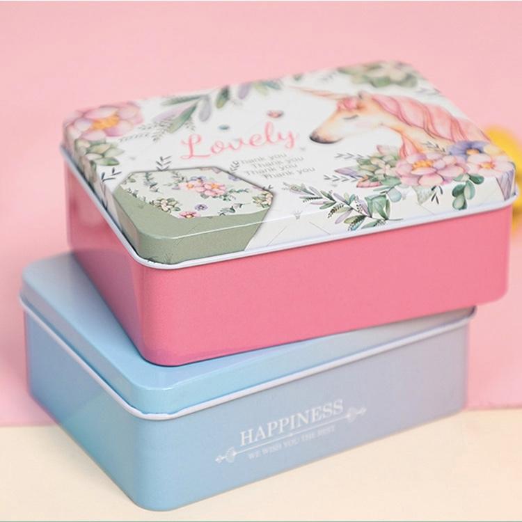 Food Safe Square Gift Tins