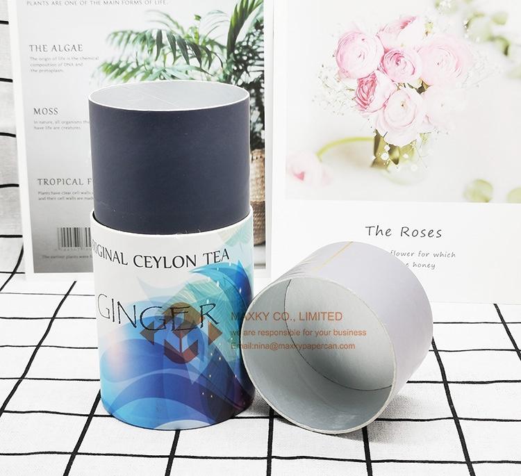 4C printing paper tube packaging