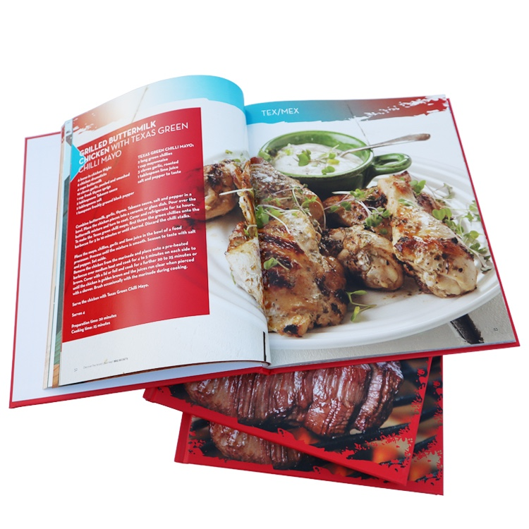 Eco-friendly custom Hot Selling A4 Hardcover Book Printing