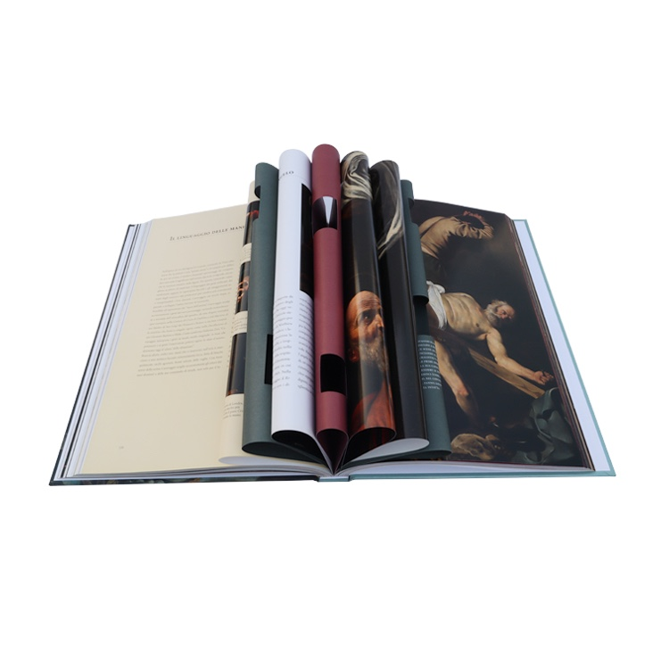 High Quality A4 Hardcover Cheap Art Book Printing With Best Price