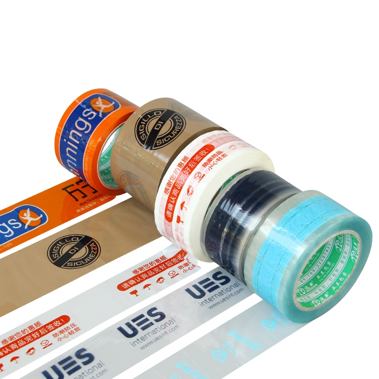 China Manufacturer Bopp Material Logo Printed Packing Tape