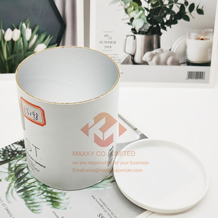 Paper canister with PP lid and bottom Manufacturers, Paper canister with PP lid and bottom Factory, Supply Paper canister with PP lid and bottom