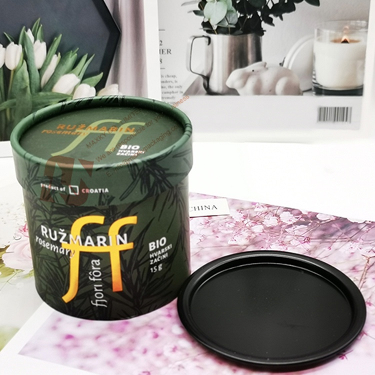 Paper composite cans with paper lid Manufacturers, Paper composite cans with paper lid Factory, Supply Paper composite cans with paper lid