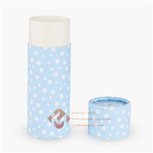 Cylindrical cardboard box packaging