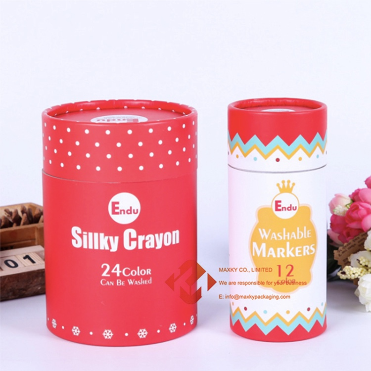 Round cardboard canister