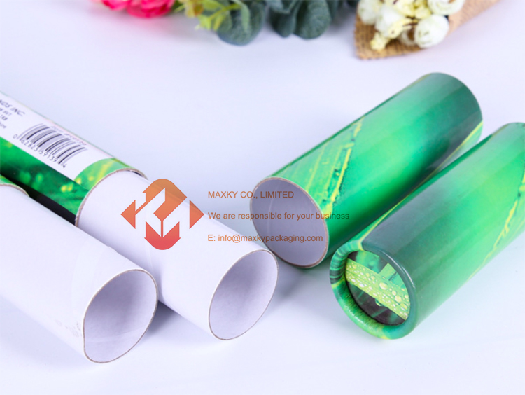 Produce cylindrical cardboard containers Factory