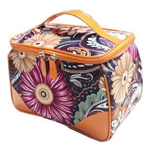 Polyester Coated Water Resistant Toiletry Bag