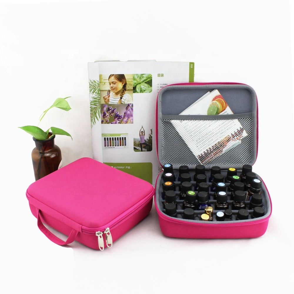 Polyester EVA Hard Shell Cosmetic Case