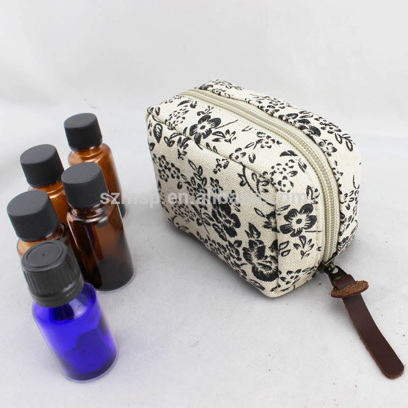 Linen Aroma Cosmetic Pouch