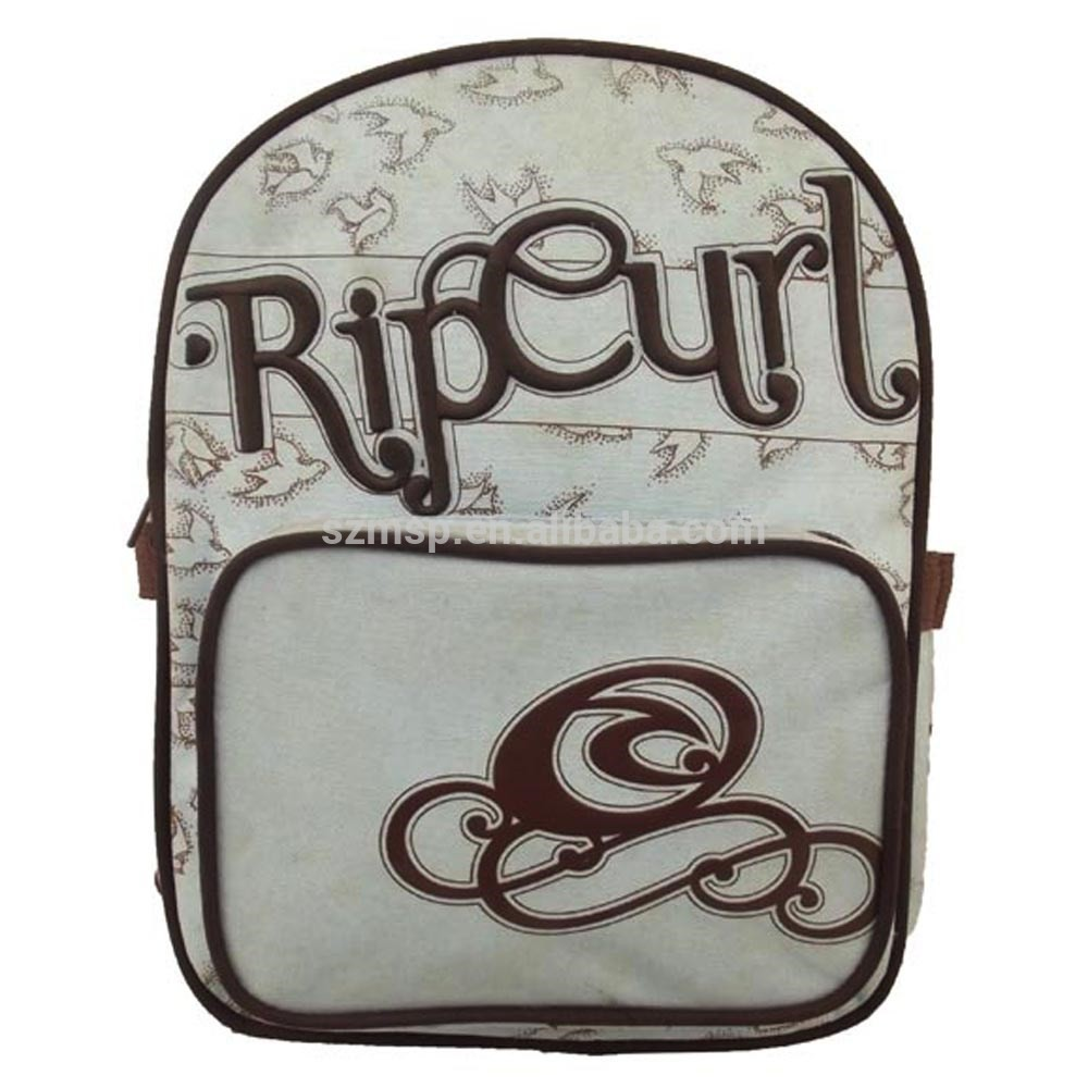 Cotton Polyester Cute Primay School Backpack