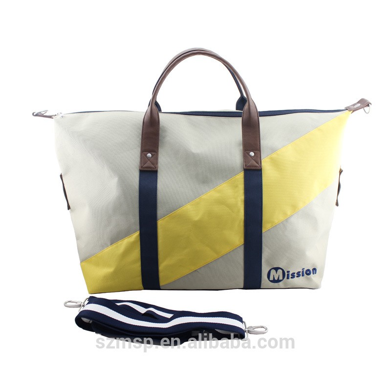 Nylon Cotton Polyester Weekend Bag