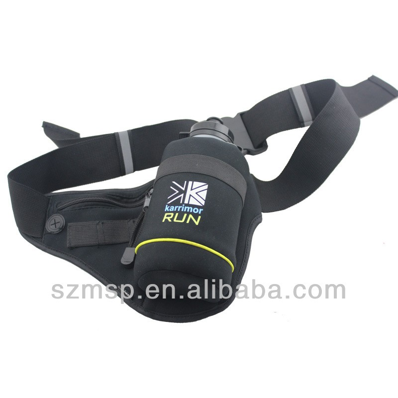 Neoprene Water Bottle Holder Wasit Bag Outdoor