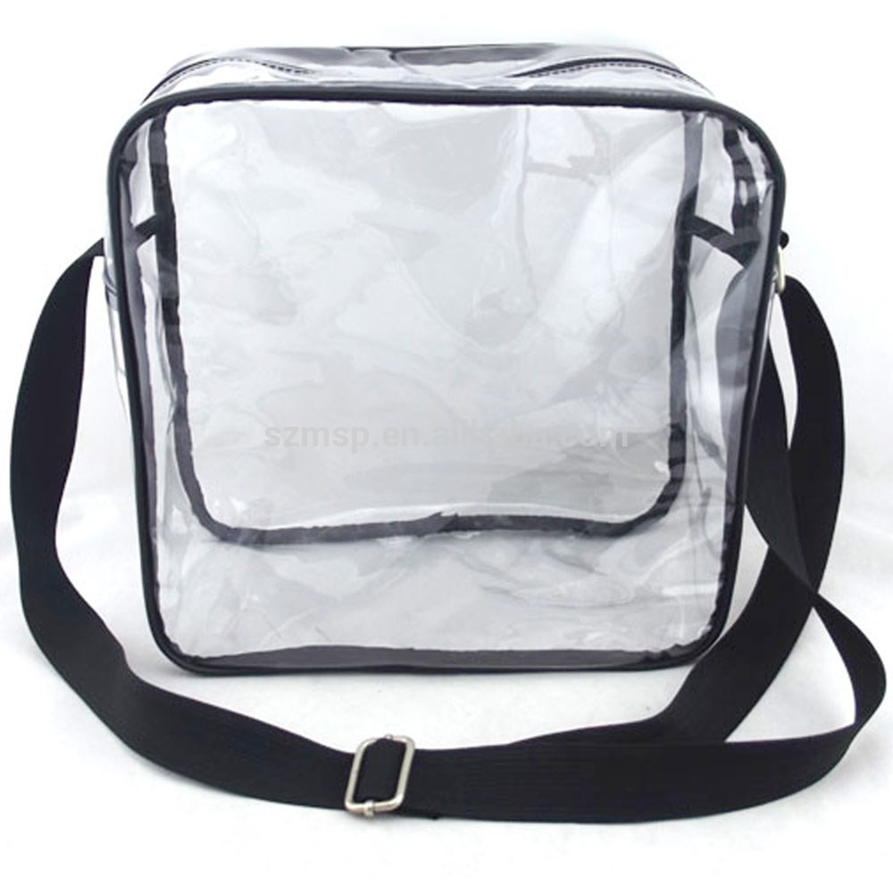 Museum Clear Pvc Shoulder Bag Cross Body Bag