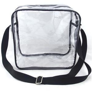 Museum Clear Pvc Shoulder Bag Cross Body Bag