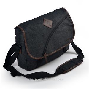 Heavy Canvas Cross Body Bag