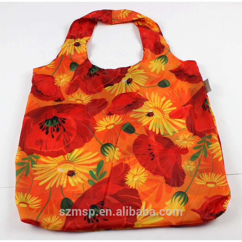 Overall Printing Foldable Shopping Bag