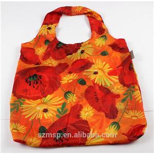 Overall Printing Foldable Shopping Bag